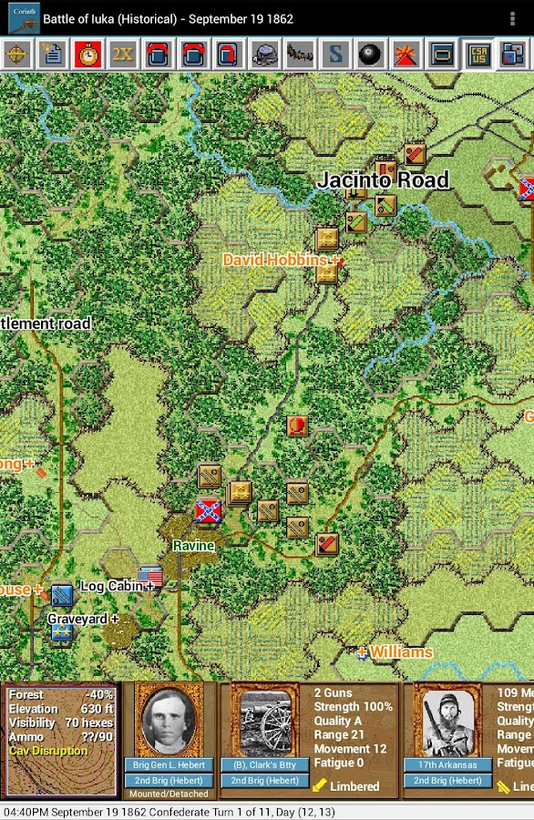 Civil War Battles - Corinth- screenshot