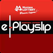 Montana Lottery e-Playslip