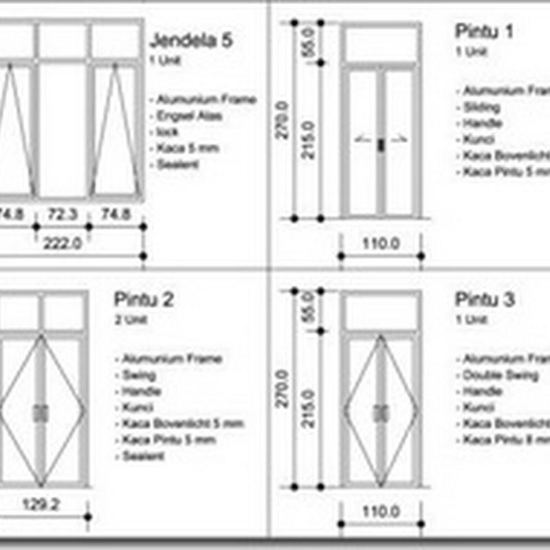 Cara Menghitung Perkiraan Biaya Kusen Aluminium Kaca Aluminium | Home Design Idea