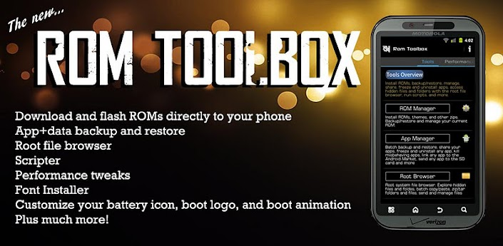 Root ROM Toolbox Pro v5.2.2 + Lucky Patcher v2.1.5