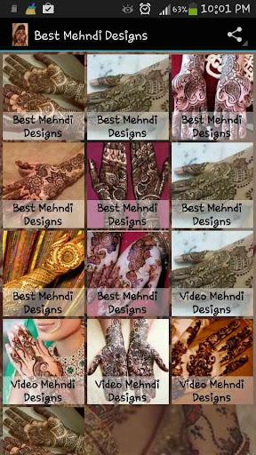 Best Mehndi Designs