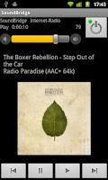 Screenshot of Remote for SoundBridge Donate