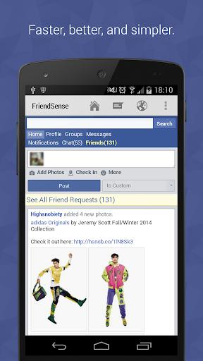 FriendSense News for Facebook