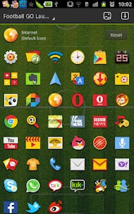 Football GO LauncherEX Theme - screenshot thumbnail