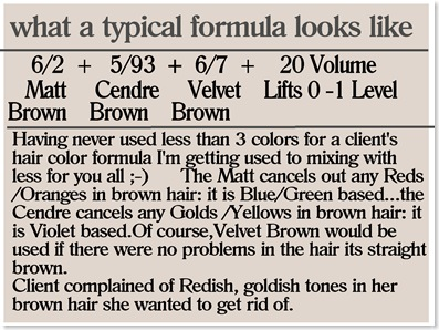 HCC post #2 color formula
