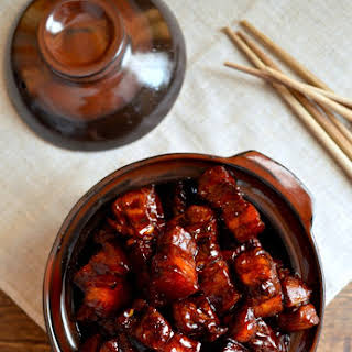 SHANGHAI-STYLE BRAISED PORK BELLY (Hong Shao Rou).