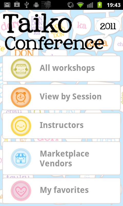 Taiko Conference 2011 - screenshot