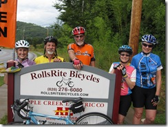 BicycleHaywoodNC  Ride Leaders