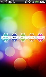 DroidClock Widget- screenshot thumbnail