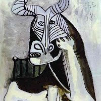 Pablo Picasso - The King of the Minotaurs.JPG