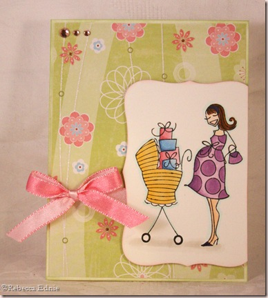 preggie carriage card