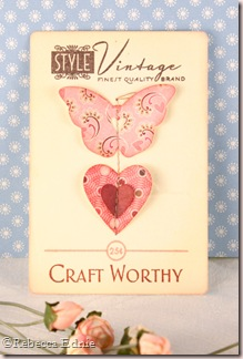 button card butterfly