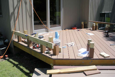 Building a House: Deck - Benches (Frame)