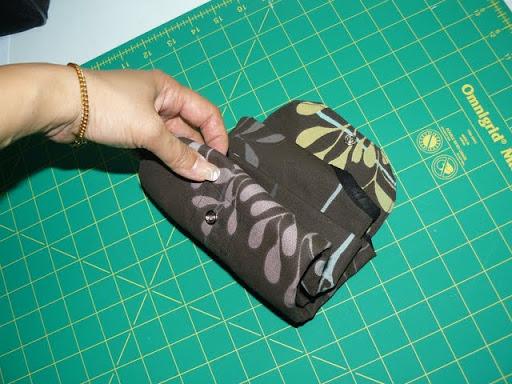 Crafty Ady The Fold Away Shopping Bag Tutorial