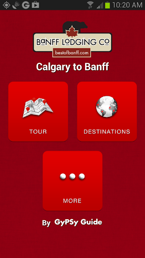 玩旅遊App|Banff Lodging Co Free GPS Tour免費|APP試玩