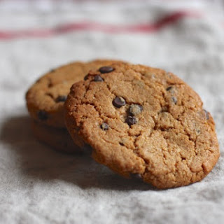 Almond Butter Chocolate Chip Cookies from Gina Harney's HIIT It!