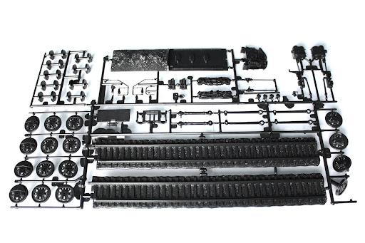 BDA's Train Blog: Revell Big Boy Steam Locomotive - Inside the Box