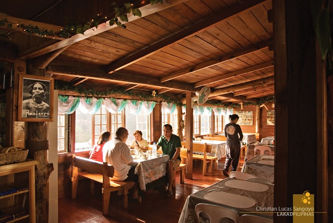 The Warm Interiors of Masferre Country Inn and Restaurant