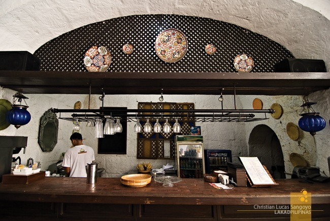 The Bar at Plaza San Luis in Intramuros