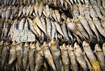 Dried Fish at Pasig's Market