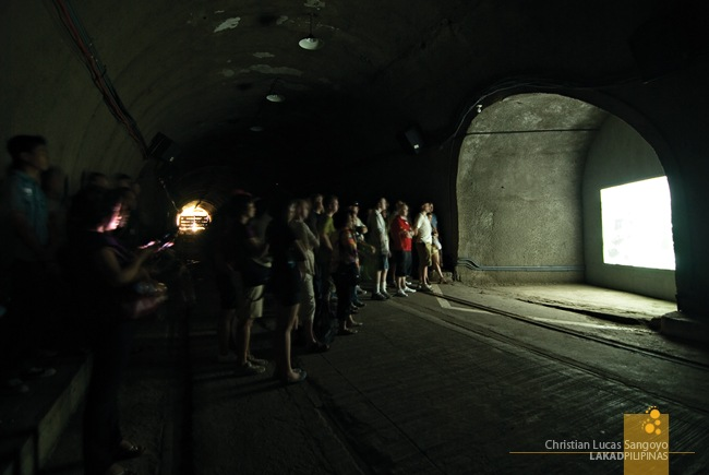 Lights Are Dimmed During Presentations at Corregidor's Malinta Tunnel