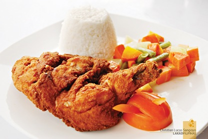 Southwestern Fried Chicken at Corregidor's La Playa Restaurant