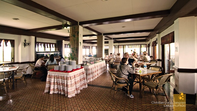 The Interiors of Corregidor's La Playa Restaurant