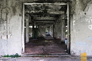 Decaying Empty Halls at Corregidor's Mile Long Barracks