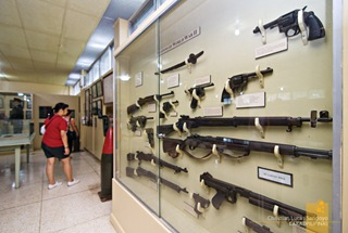 Choice of Weapons During the Second World War at Corregidor's Pacific War Memorial