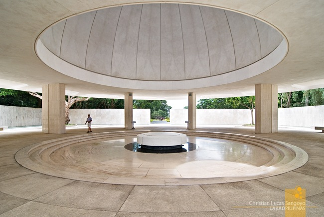 Main Hall of Corregidor's Pacific War Memorial