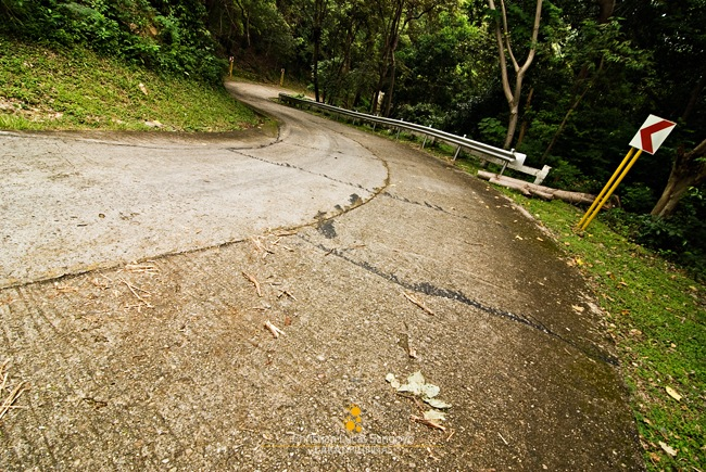 Ready Your Legs for Some Steep Roadways at Corregidor
