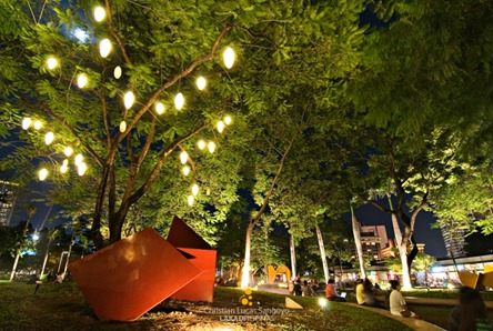 Playgrounds for Kids at the Ayala Triangle