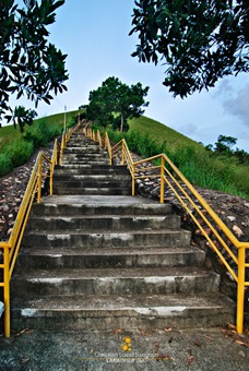 More Steps to Mount Tapyas