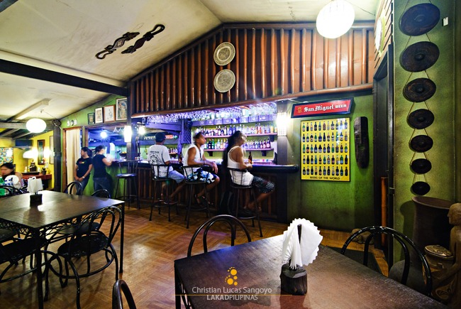 Coron Village Lodge's Bar Area