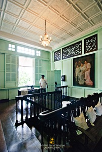 George Po, Bernardino Jalandoni Museum's Guide in Silay City