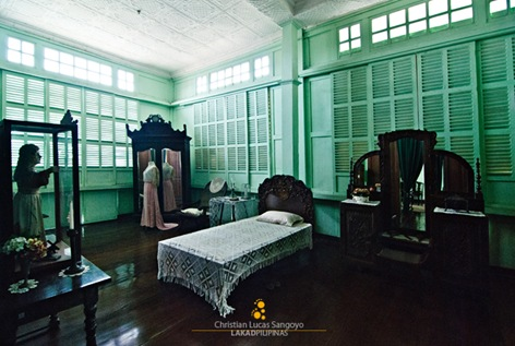 The Bedroom of Bernardino Jalandoni Museum in Silay City