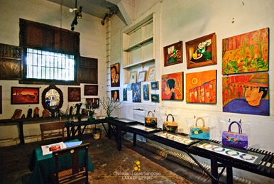 Artworks at the Gift Shop of Balay Negrense Museum