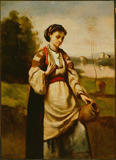 Woman with Water Jar