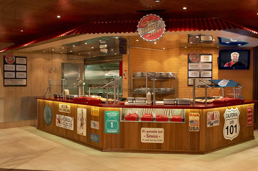 Carnival-Liberty-Guys-Burger-Joint - Kids and adults will love the off-the-grill hamburgers and hand-cut fries at Guy's Burger Joint, next to Carnival Liberty's pool.