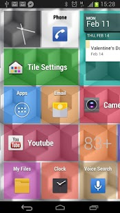 Tile Launcher Pro - screenshot thumbnail