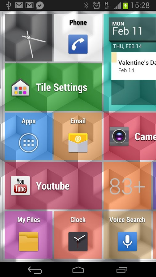 Tile Launcher Pro- screenshot