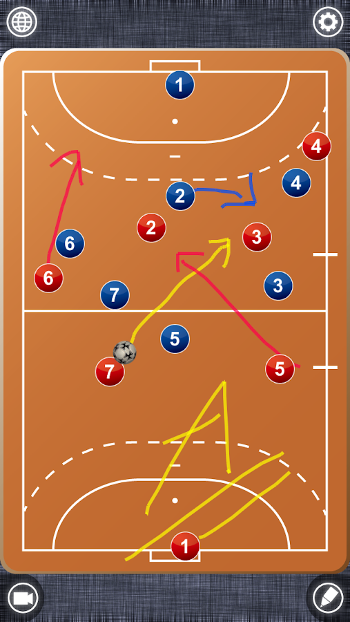 Handball Board- screenshot