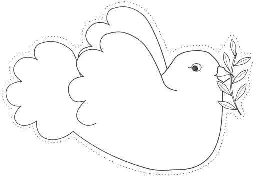Dibujos Para Colorear Palomas De La Paz Colorear Dibujos Infantiles