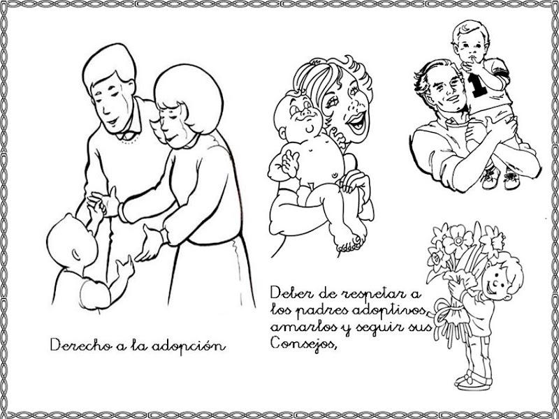 Dibujos Para Colorear Derechos Y Deberes Del Nino Colorear Dibujos