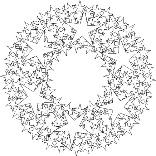 star-wreath