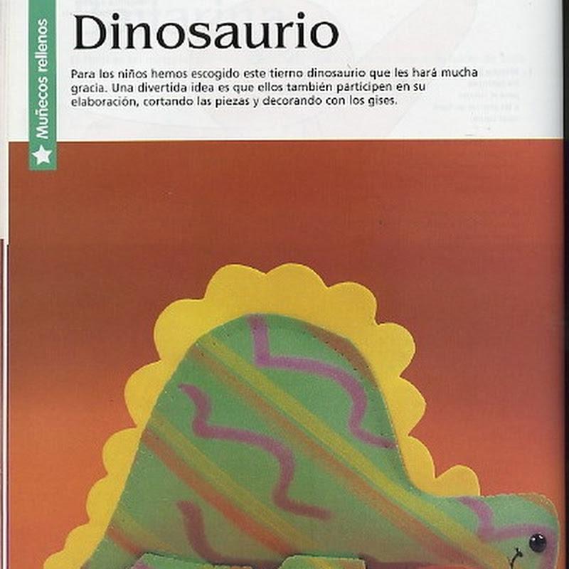 Manualidades: Dinosaurio en Goma Eva