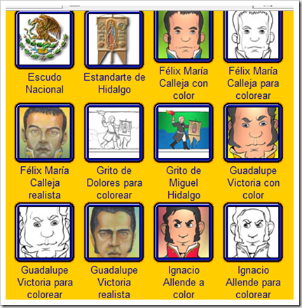 Dibujos Personajes De La Independencia Imagui
