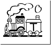 abecedario de tren 13