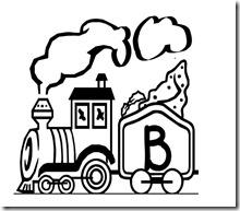 abecedario de tren 12