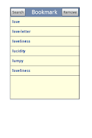 Screenshot of English Italian Dictionary Pro